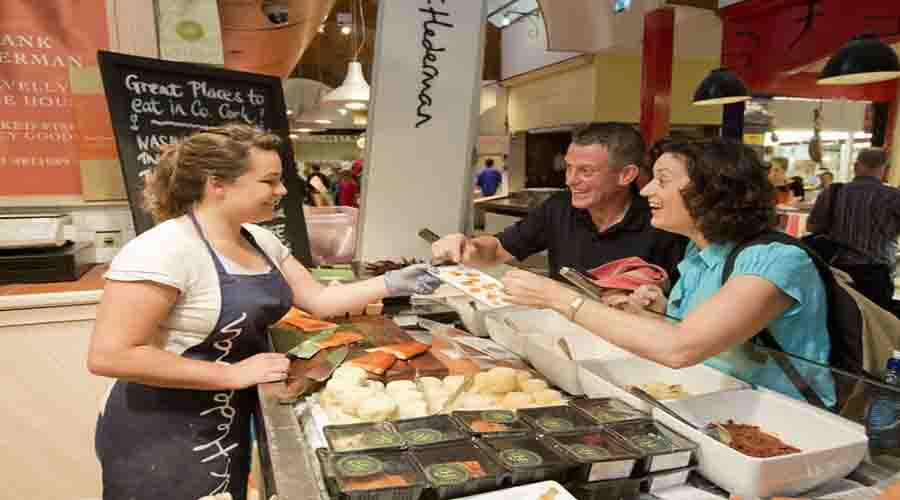 Fish tasting at English Market