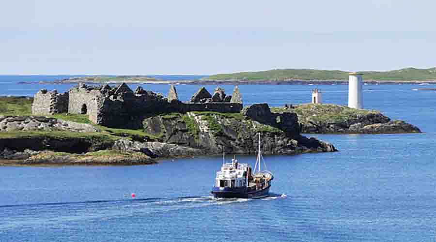 View of Inishbofin Island