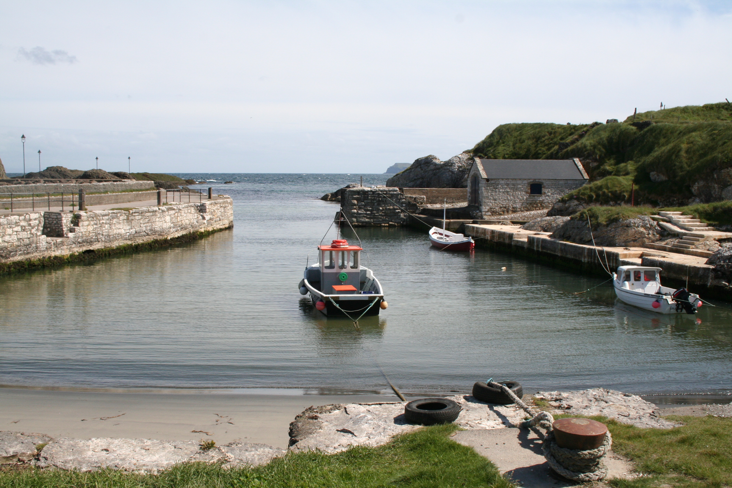 Beautiful Ballintoy Harbour