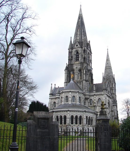 View of St Fin Barre's Cathedral