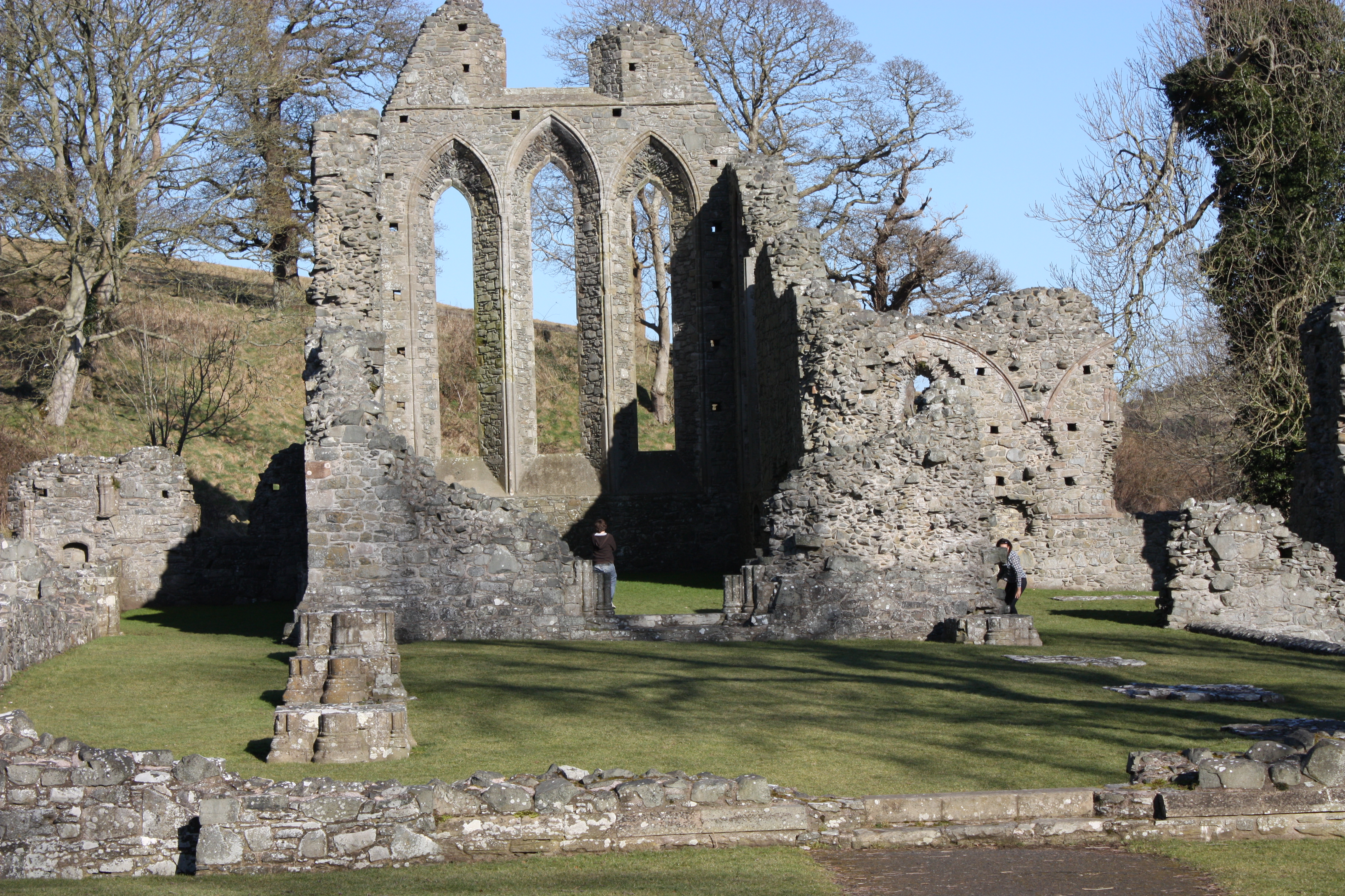 The Arch of Inch Abbey