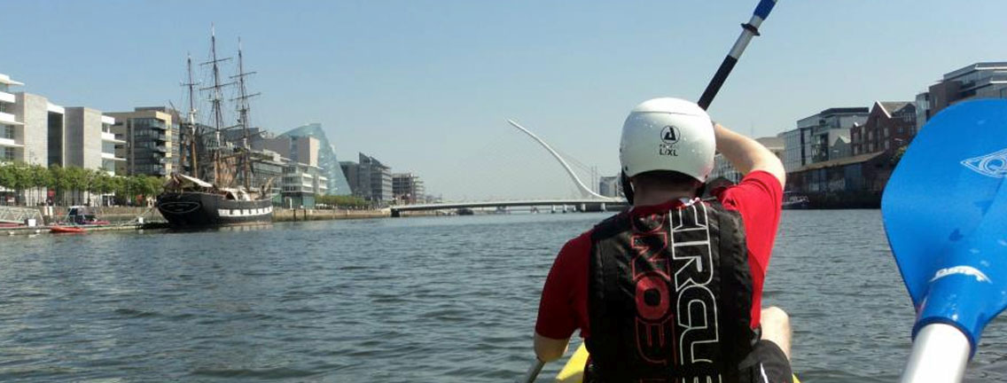 Kayaking in Dublin