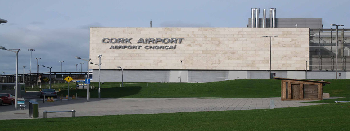 Outside Cork Airport