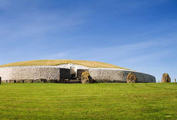 View of Newgrange site