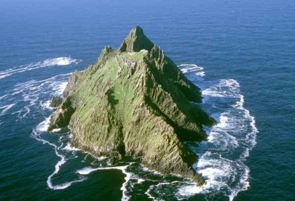 View of Skellig Michael Island