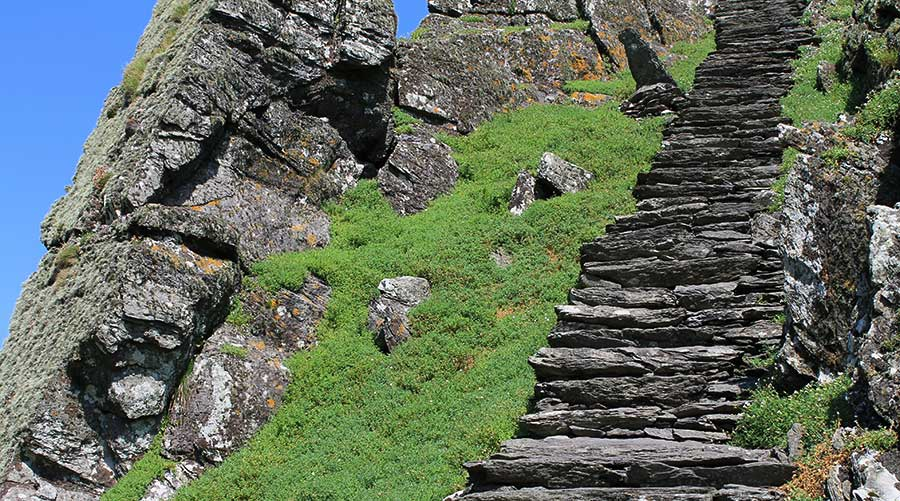 Skellig Michael Island Steps