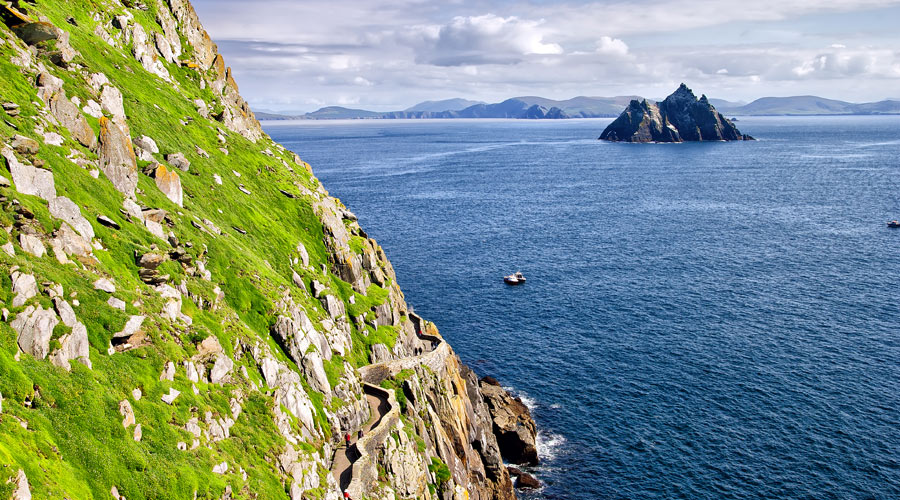 View of Skellig Island